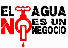 EL AGUA NO SE VENDE !!!
