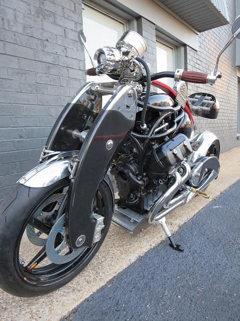 JT Nesbitt Bienville Legacy Motorcycle