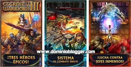 Juega Ethernity Warrior 3 en tu teléfono con Android