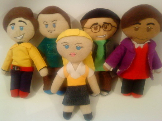 The Big Bang Theory Plushies por cubosabio
