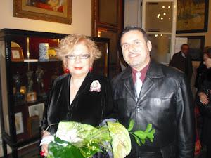 Amb la artista Núria Feliu
