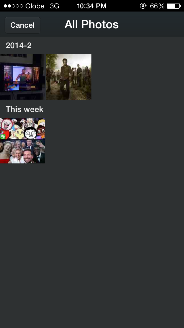 wechat organized photo album