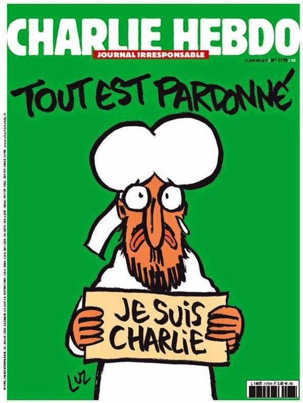 Charlie Hebdo Nouveau Numéro Novo Número New Number 14/01