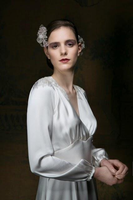1940s Satin Dresses