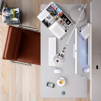 Meja Kerja Kantor Modern 2