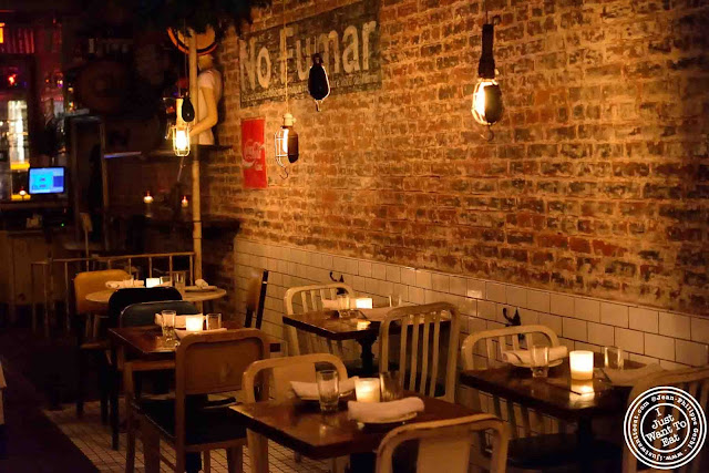 Image of the Dining room of Oficina Latina in Nolita, NYC, New York