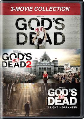 God's Not Dead Coleccion DVD R1 NTSC Latino
