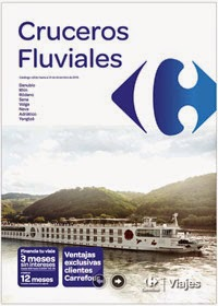 Folleto Cruceros Fluviales Carrefour 2015
