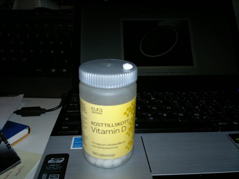 dagligt intag d vitamin