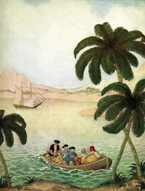 Boat's last trip Edmund Dulac