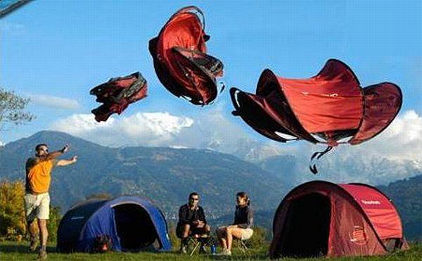 Unusual C&ing Tents & Unusual Camping Tents   Interesting Creative Designs