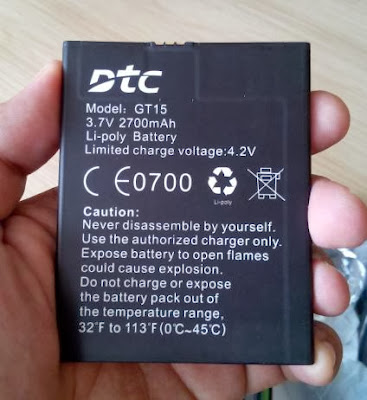 DTC Mobile GT15 Astroid Fiesta Battery