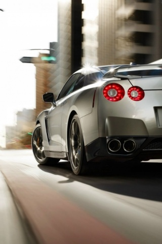 IPhoneZone Nissan Car Wallpapers For IPhone