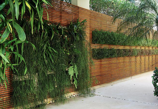 Ark arquitetura muros - Muro jardin ...
