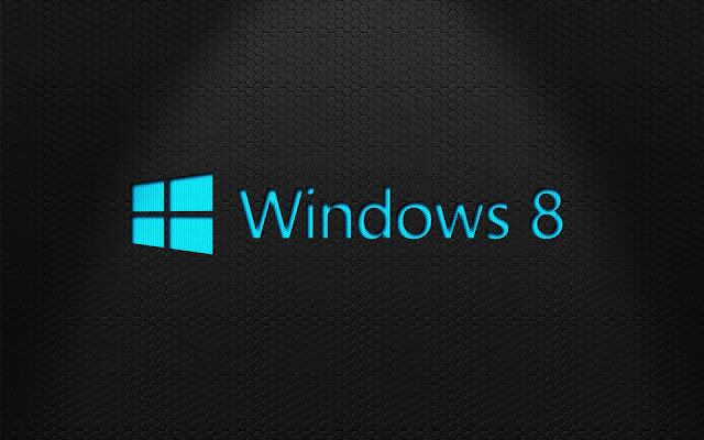 Schwarzen Windows 8 wallpaper