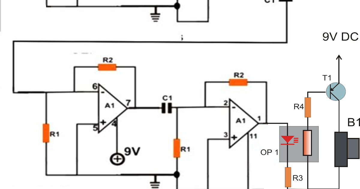 how to make a ghost detector circuit