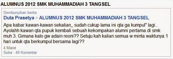 facebook alumnus SMK MUHAMMADIYAH 3 TANGSEL