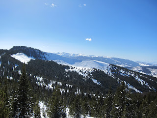 View of Pete's Bowl on Blue Sky Basin