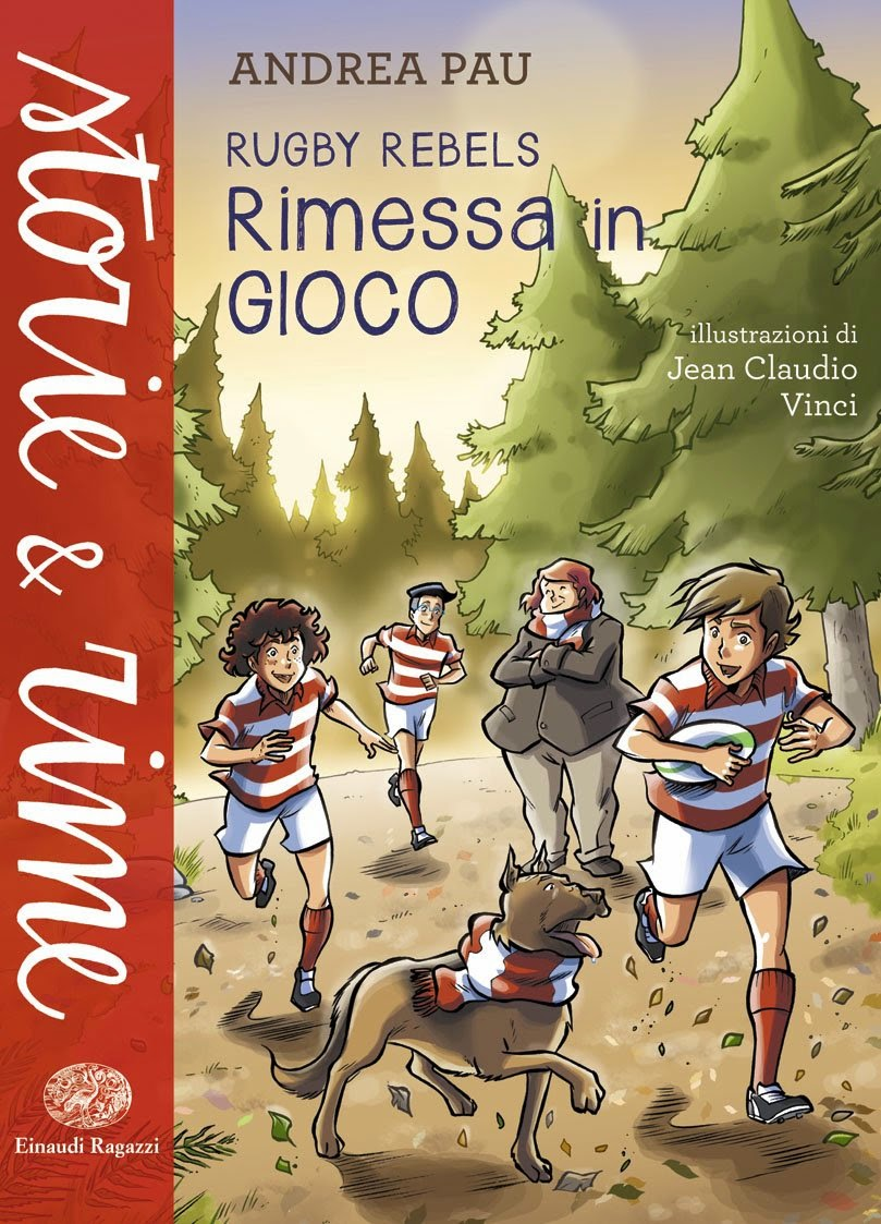 "Rugby Rebels ""Rimessa in Gioco"""