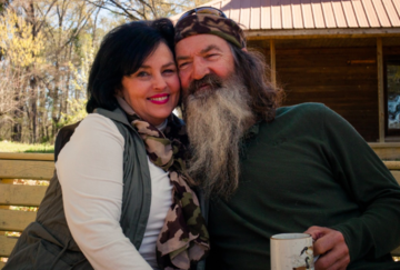 there is a video of phil robertson and his wife speaking about their