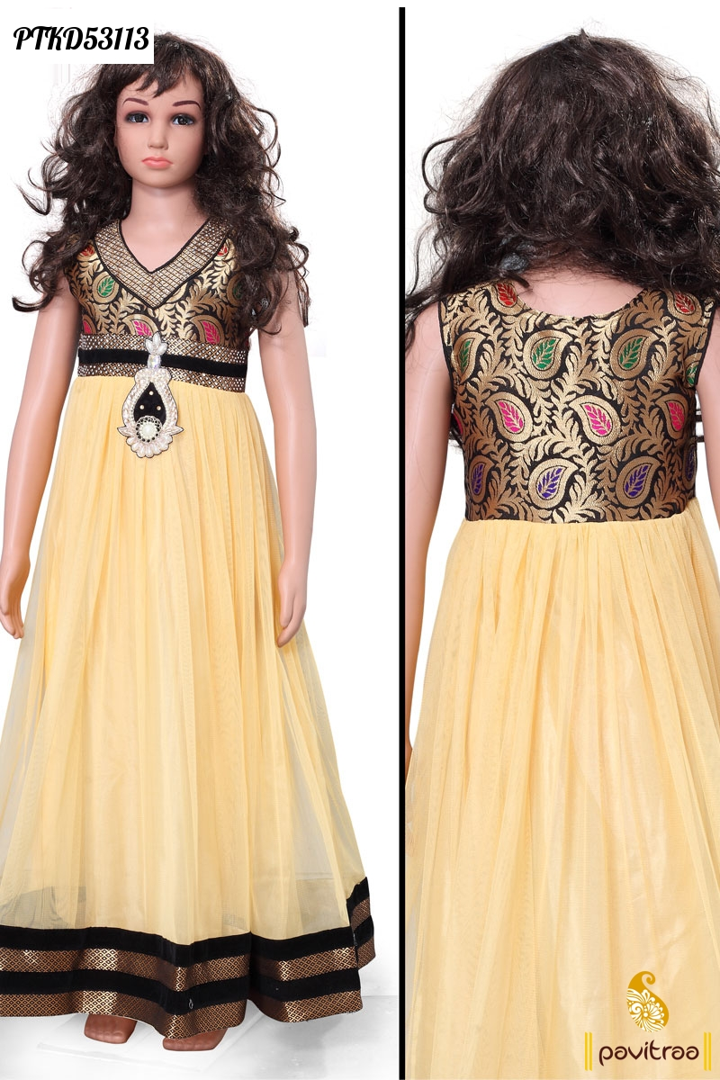 Kids Wear Baby Girls Indian Designer Dresses And Salwar