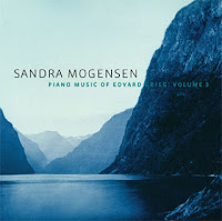 Sandra Mogensen: Grieg Piano Music, volume 3, CHM120819