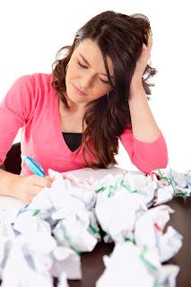 writing frustration