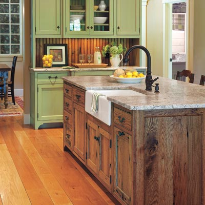 the Bath Showcase: All About Kitchen Islands