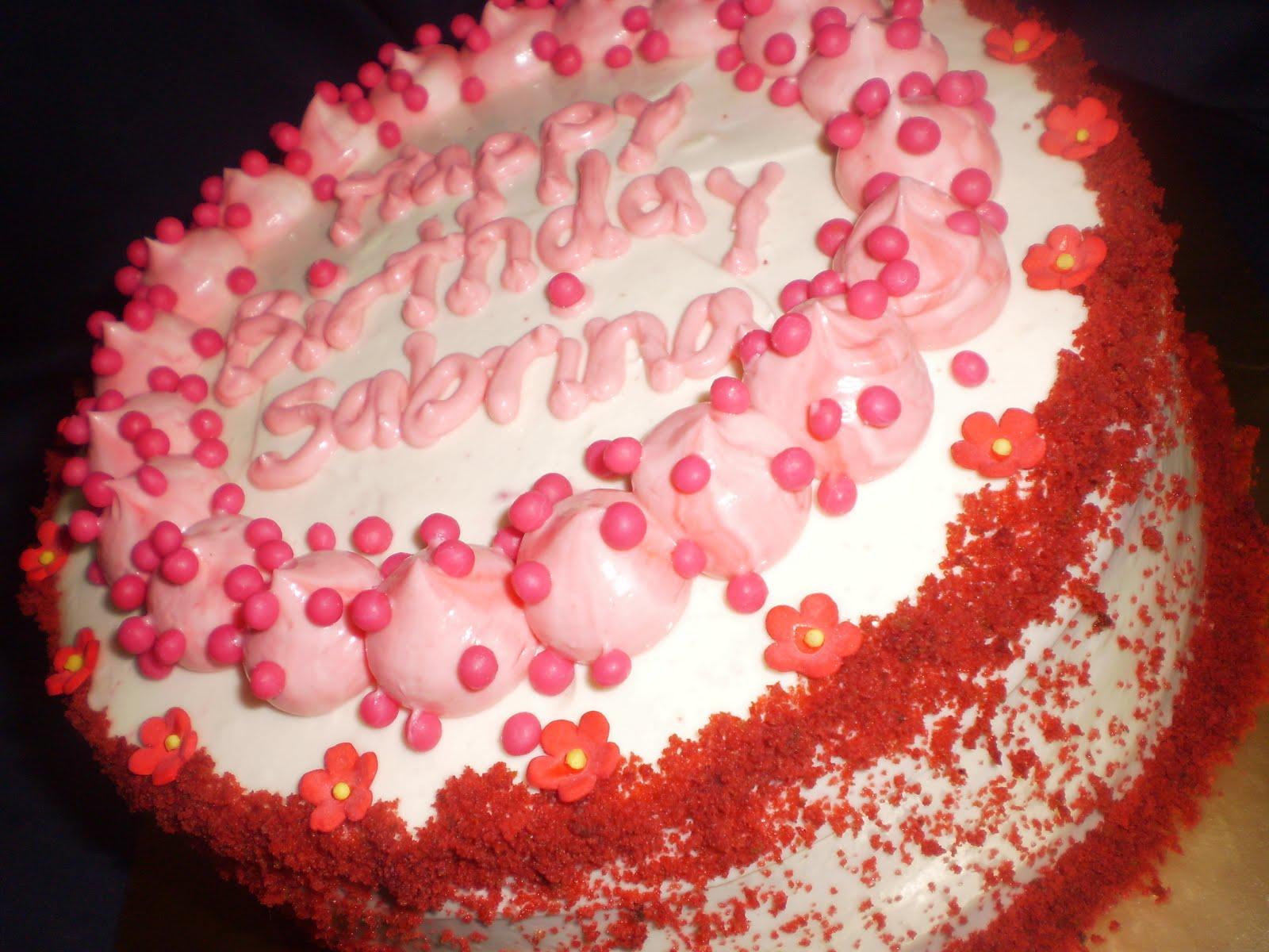 Craving Cakes with Noni: Birthday Cake - Red Velvet - Happy Birthday ...