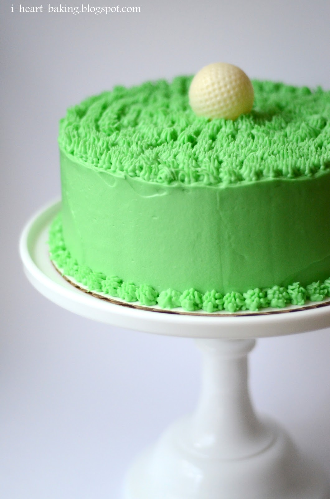 i heart baking another golf ball cake chocolate cake filled with