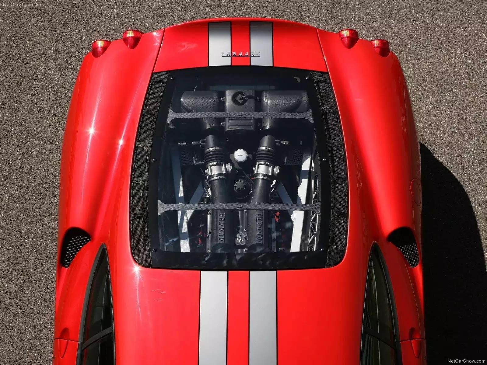 Hình ảnh siêu xe Ferrari 430 Scuderia 2008 & nội ngoại thất