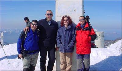 Hernio mendiaren gailurra 1.075 m. -- 2005eko martxoaren 13an