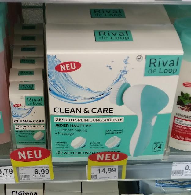 Rival de Loop - Clean & Care Gesichtsreinigungsbürste