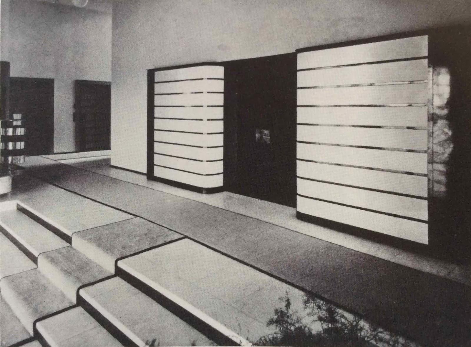 le blog des amis de la villa cavrois archives int rieures. Black Bedroom Furniture Sets. Home Design Ideas
