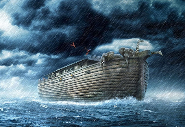 Noah's Ark 'Was a Massive Double-Decker Coracle'