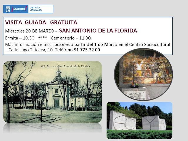 Cartel visita guiada marzo 2013 - Ermita y cementerio S.Antonio Florida