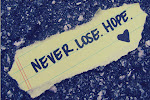 Nunca pierdas la esperanza.