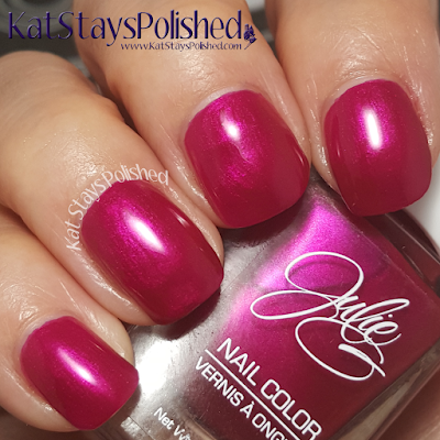 JulieG Nail Color - Core 2015 - Pin-Up Girl | Kat Stays Polished