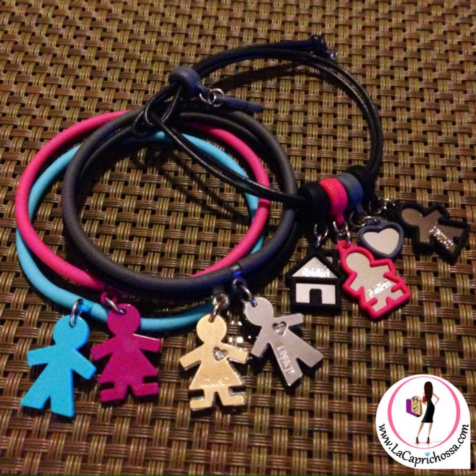 LaCaprichossa - braccialetti i birikini - pulseras - bracelets - low cost - precios anticrisis