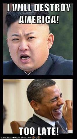 Kim Jong Un too late