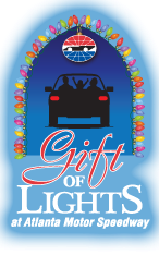 Sojourner marable grimmett gift of lights at atlanta for Atlanta motor speedway light show