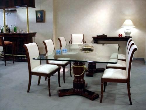 Dise o de interiores 2013 salas y comedores for Comedores de madera y vidrio