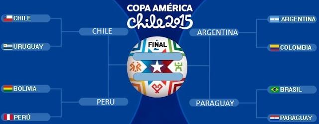 Hoy semifinales Copa América 2015