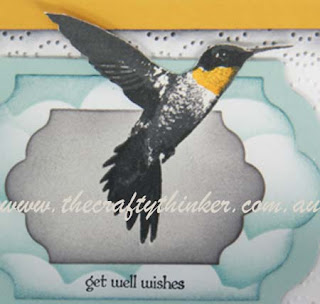 SU, Out of the Box die cutting, Elegant Dots, Masking, Sponging, Masculine card