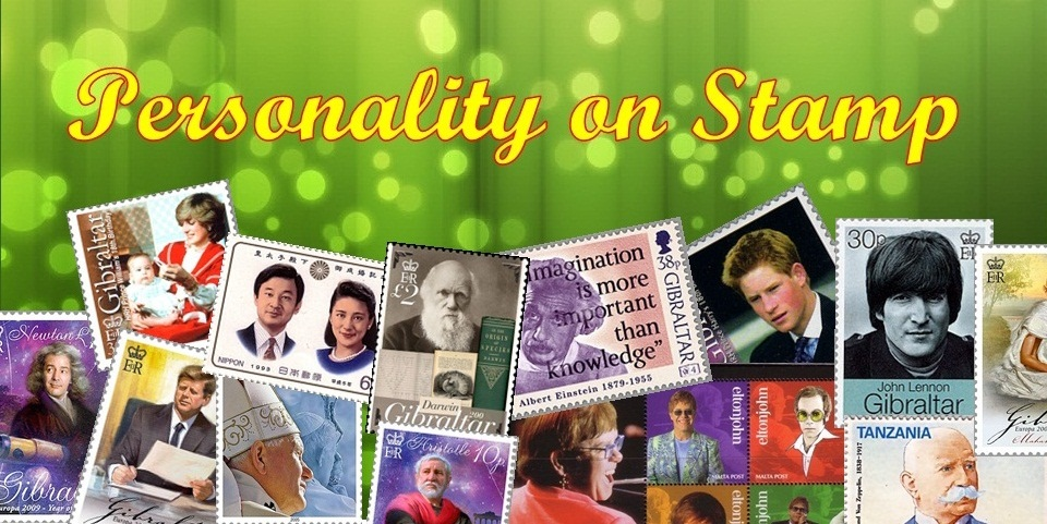 Personality  on  Stamp