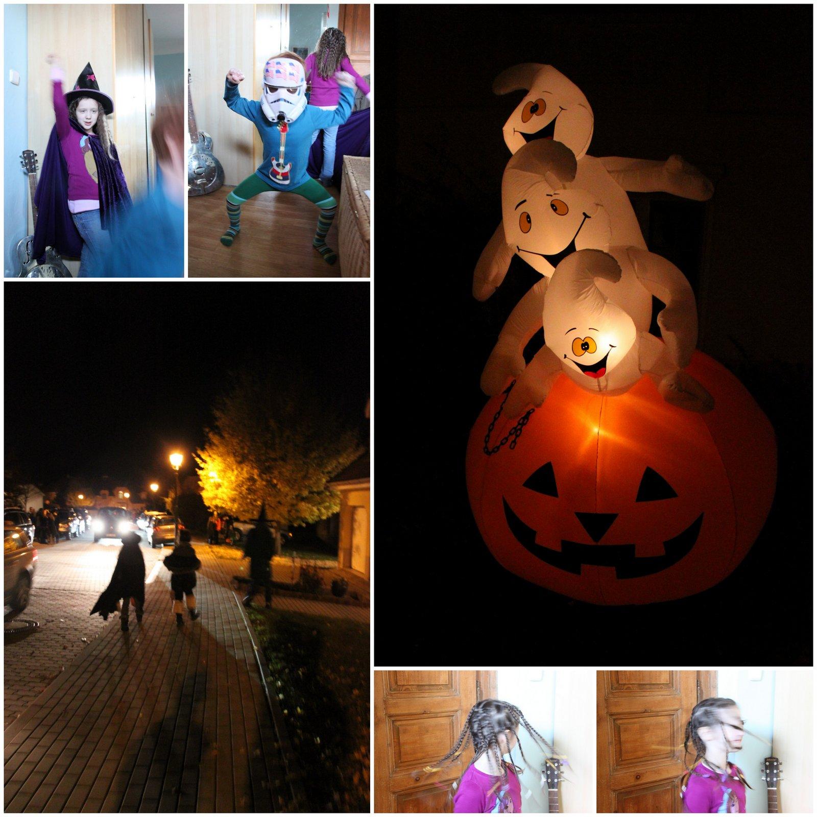 trick or treat in Prague, Halloween 2012