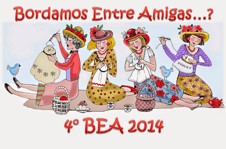 """Bordando entre amigas """" 4º Bea 2014"""""""