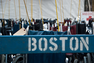 boston marathon barricades