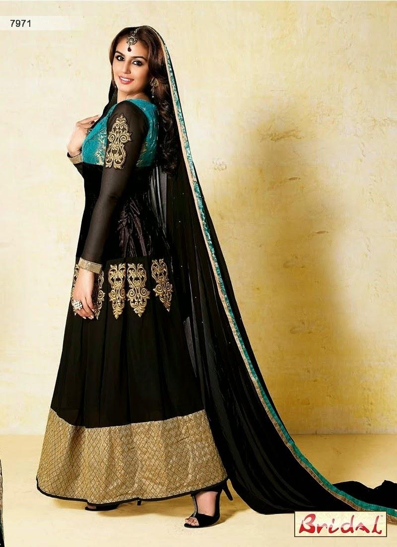 Modern Fashion Huma Qureshi In Bollywood Anarkali Suits 2014