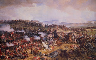 Charge of the French Cuirassiers at Waterloo by Henri Félix Emmanuel Philippoteaux, 1874